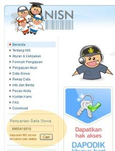 Web NISN