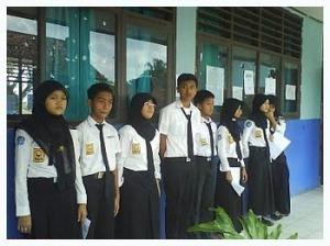 Siswa SMPN 1 Malingping