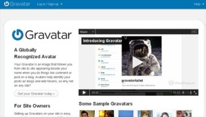 Website Gravatar dot Com