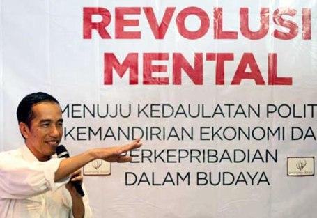 Gerakan Revolusi Mental Jokowi